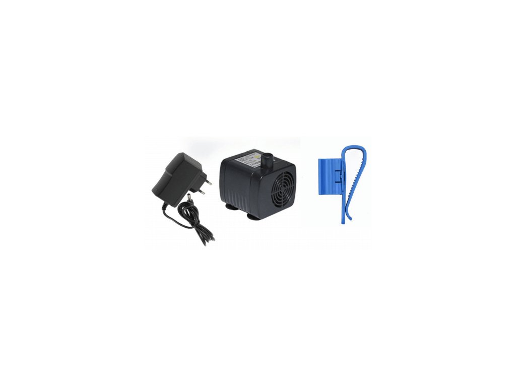 Aqua Light Mini waterpomp transformator en slanghouder 12V 200l h