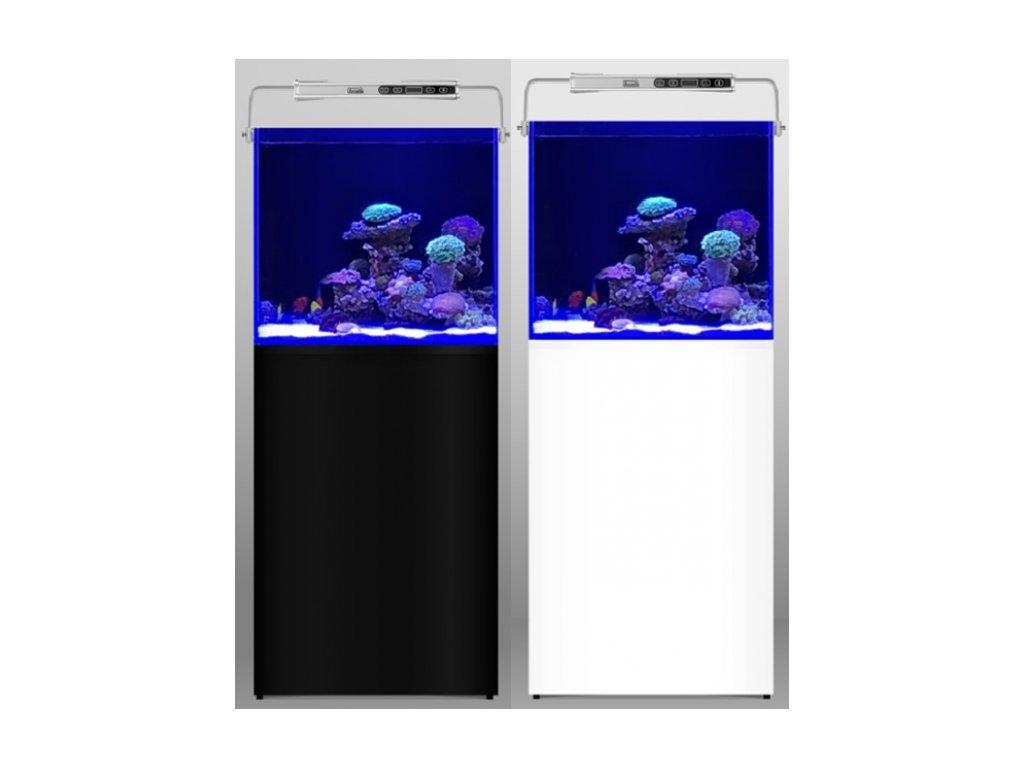 Akvarijný set od AQUARIUM SYSTEMS L'Aquarium 250 Black Sea Reef, 60 × 52 × 144 cm