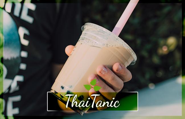 ThaiTanic Tea ledový čaj