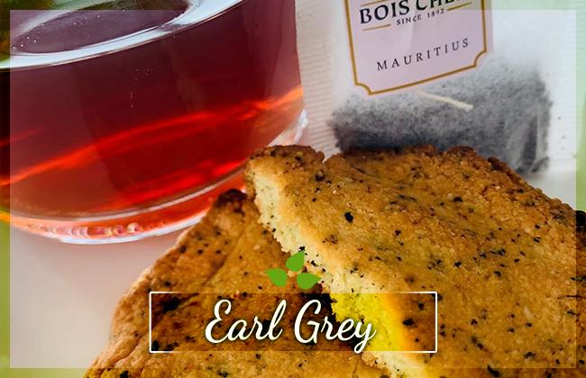 Earl Grey čajové sušenky