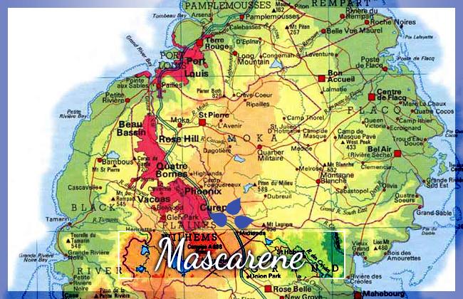 Mauricius - souostroví Mascarene