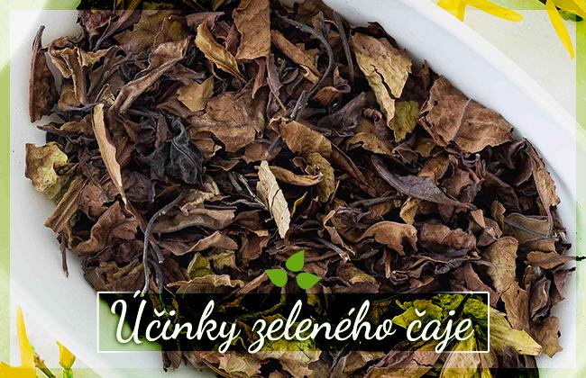 Zelený čaj a jeho účinky, nejen v péči o pleť
