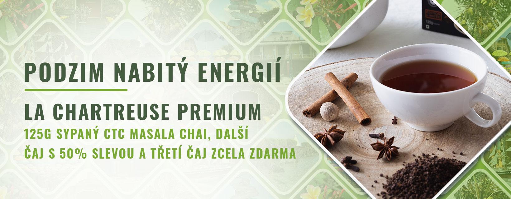 podzim nabitý energií - masala chai