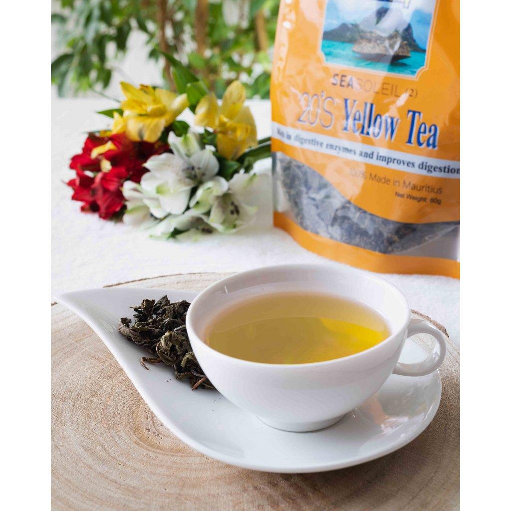 MauriceBay Seasoleil - lístky žlutého čaje, 60g