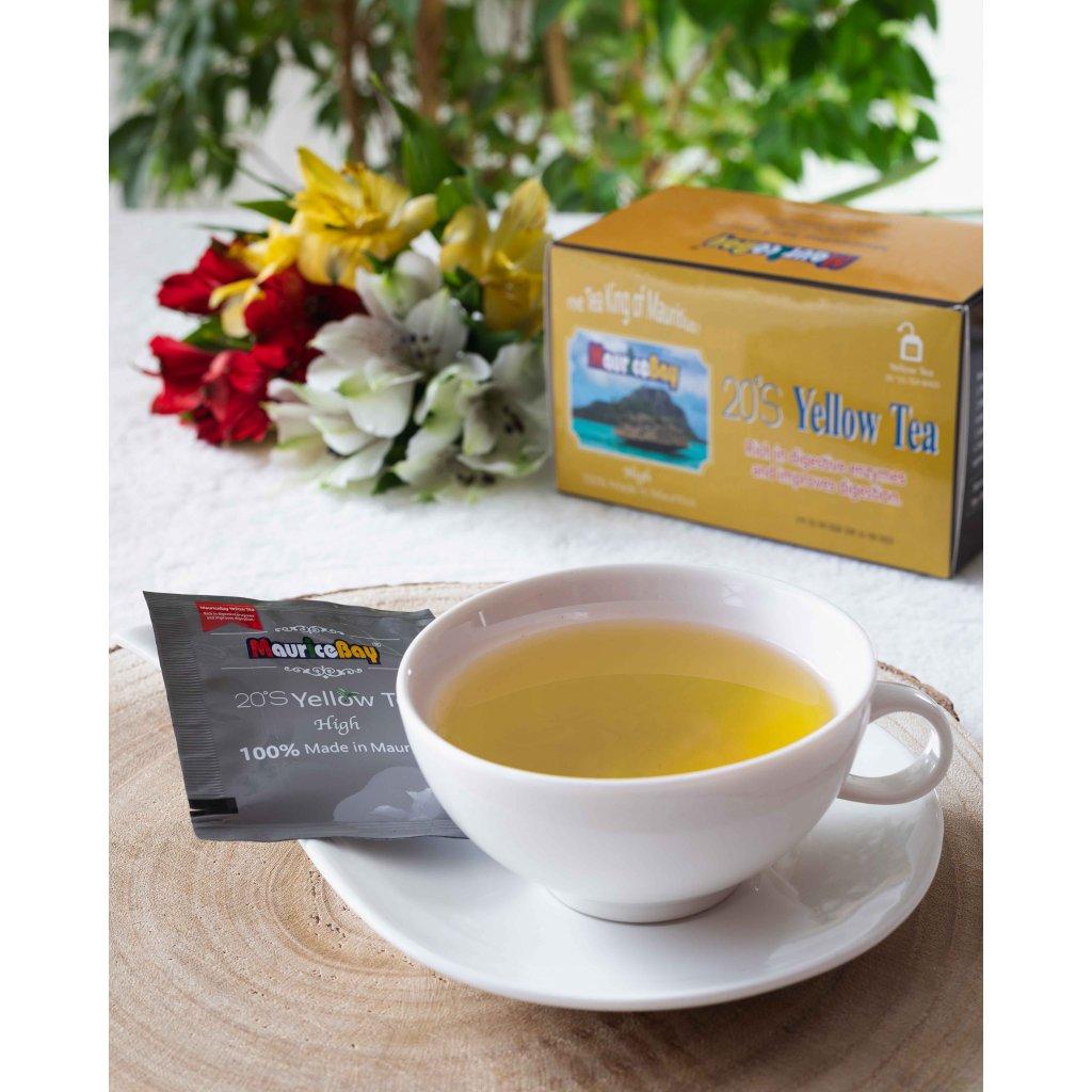 MauriceBay High - porcovaný žlutý čaj, 50g