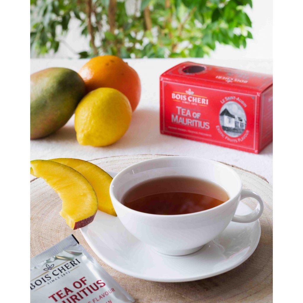 Bois Cheri St Aubin - porcovaný černý čaj s příchutí exotického ovoce, 50g