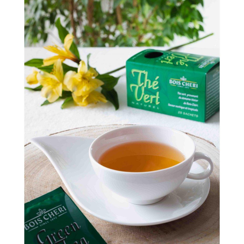 Bois Cheri The Vert - porcovaný zelený čaj, 50g