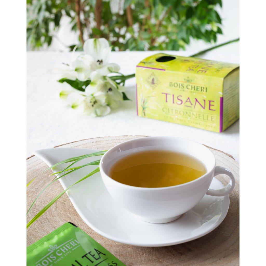Bois Cheri Tisane citronová tráva - porcovaný bylinný čaj, 35g