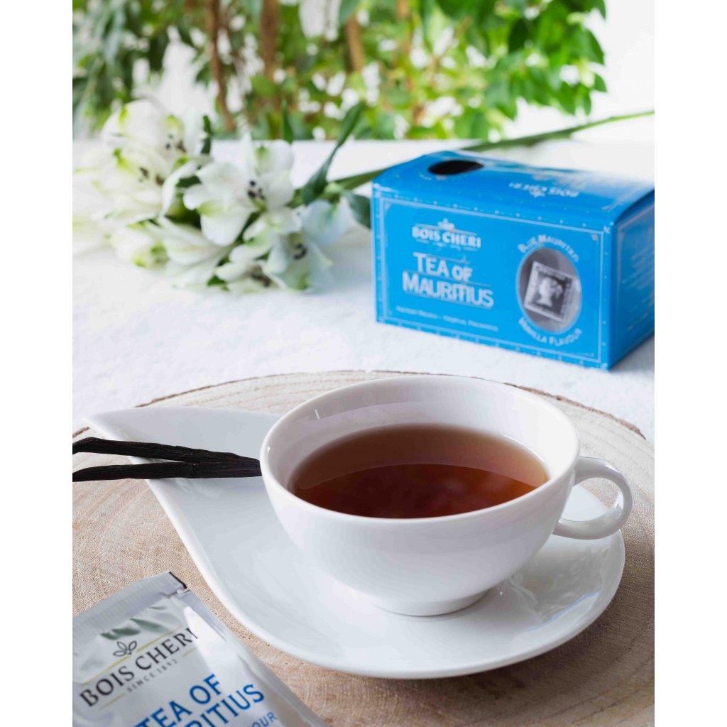 Bois Cheri Blue Mauritius - porcovaný černý čaj s vanilkou, 50g