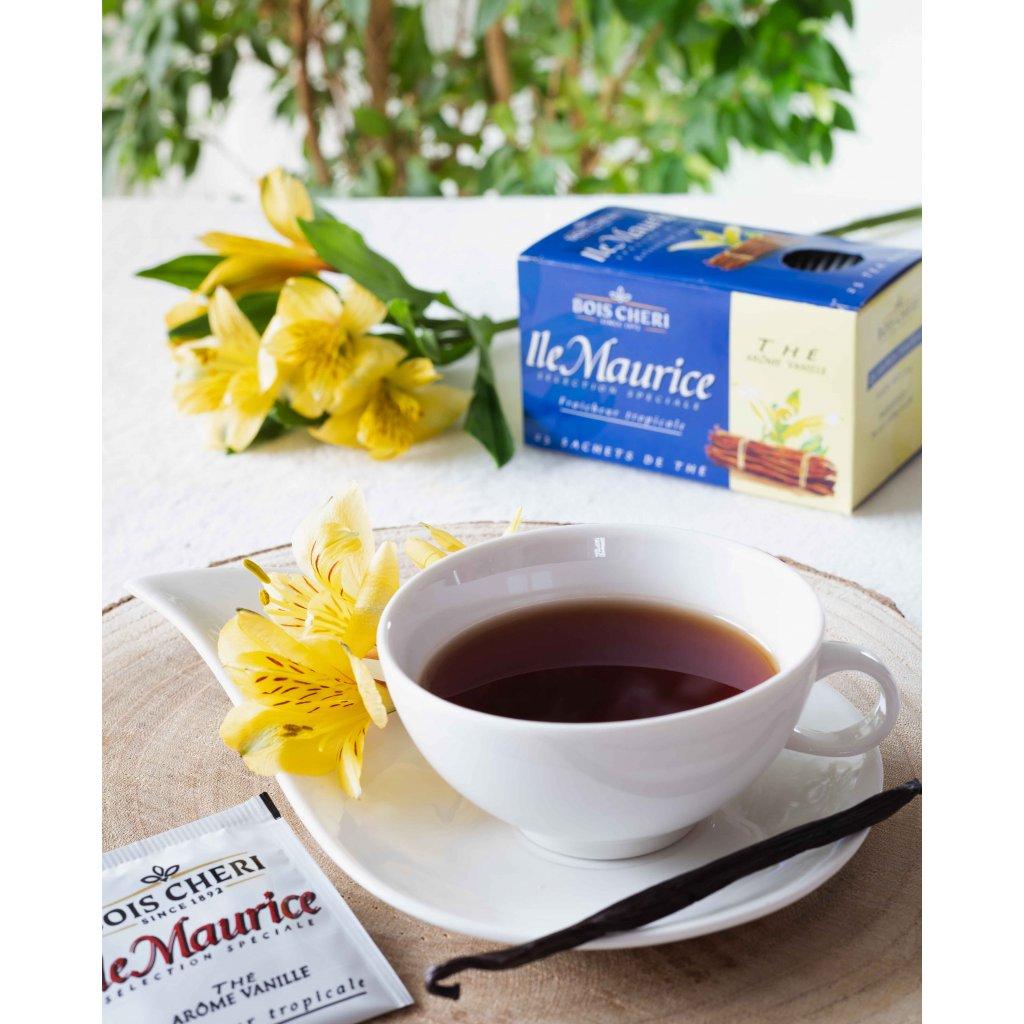 Bois Cheri Ile Maurice - porcovaný černý čaj s příchutí vanilky, 50g