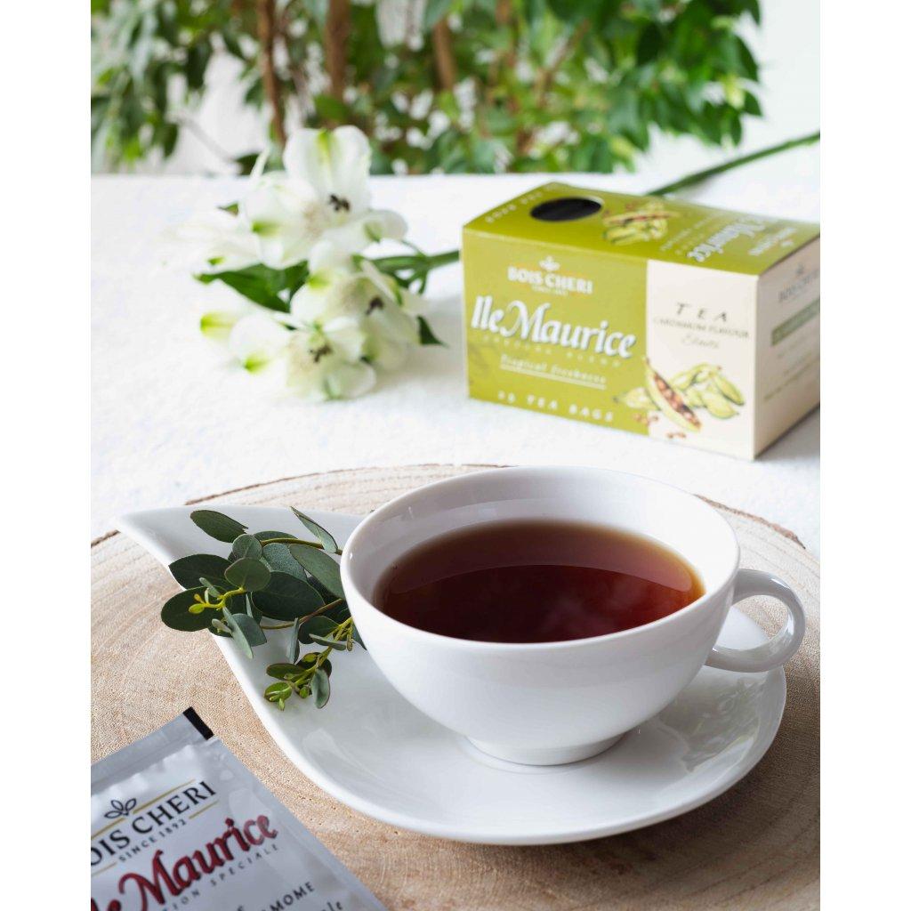 Bois Cheri Ile Maurice Fl. Cardamom - porcovaný černý čaj s příchutí kardamomu, 50g