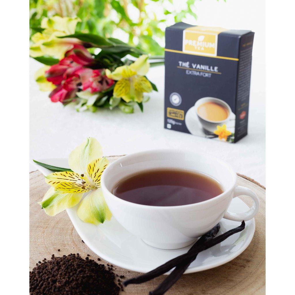 La Chartreuse Premium - sypaný CTC černý čaj s vanilkou, 125g