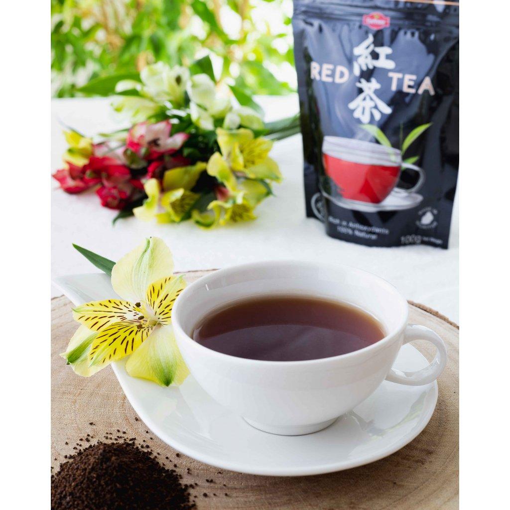 La Chartreuse Red Tea Nature - sypaný černý čaj, 100g