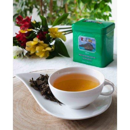 MAURICEBAY (VIP1) - lístky zeleného čaje v plechovce, 80g