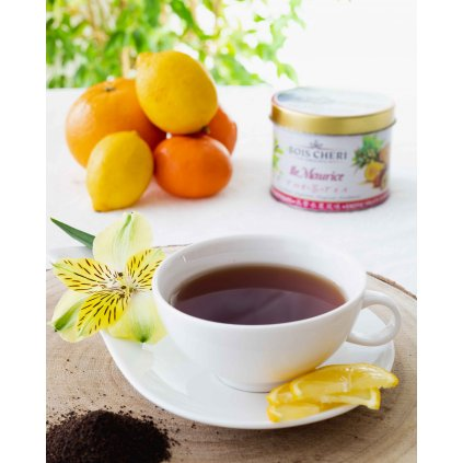 Bois Cheri Ile Maurice - sypaný černý čaj s příchutí exotické ovoce, 125g