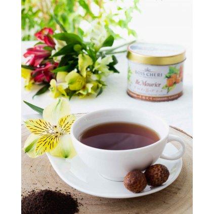 Bois Cheri Ile Maurice - sypaný černý čaj s příchutí karamelu, 125g