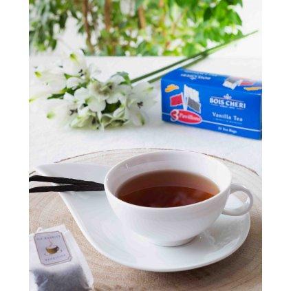 Bois Cheri Trois Pavillons - porcovaný černý čaj s vanilkou, 50g