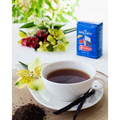 Bois Cheri Trois Pavillons - sypaný černý čaj s vanilkou, 125g