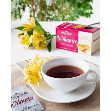 Bois Cheri Ile Maurice Fl. Exotic Fruits - porcovaný černý čaj s příchutí exotického ovoce, 50g
