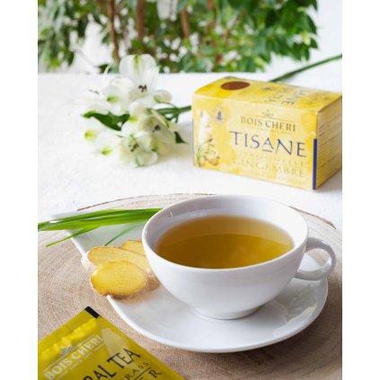 Bois Cheri Tisane citronová tráva se zázvorem - porcovaný bylinný čaj, 35g