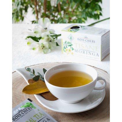 Bois Cheri Tisane Moringa - porcovaný bylinný čaj, 35g