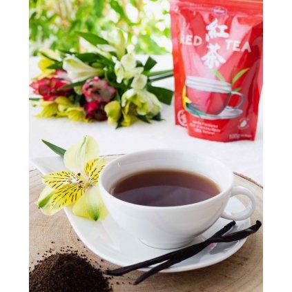 La Chartreuse Red Tea Vanilla - sypaný černý čaj s vanilkou, 100g