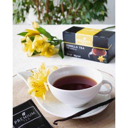 La Chartreuse Premium Vanilla - porcovaný černý čaj s vanilkou, 50g