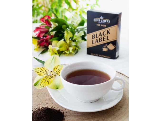 Bois Cheri Black Label (loose tea) - sypaný černý čaj, 125g