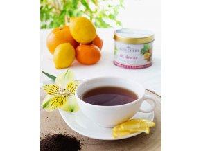 Bois Cheri Ile Maurice TIN Exotic fruit, sypaný černý čaj s příchutí exotického ovoce, 125G