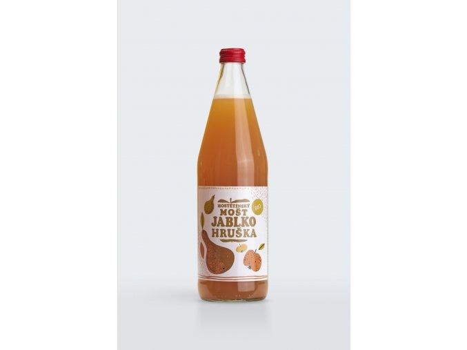 jablko hruska 0,75L 0541u