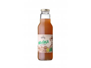 Hruška 100% 750ml nevratná lahev