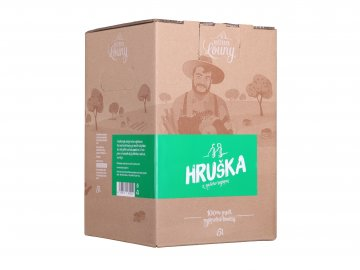 Hruška 100% 5l bag in box