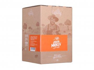Jablko mrkev 80/20% 5l bag in box