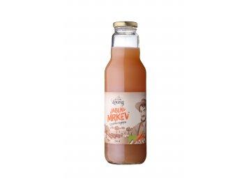 Jablko mrkev 80/20% 750ml nevrátná láhev