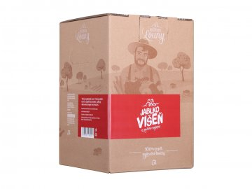 Jablko višeň 80/20% 5l bag in box