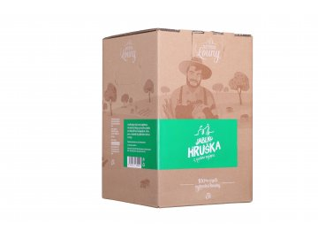 Jablko - hruška 50/50% 5l bag in box