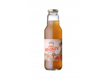 Jablko - broskev 80/20% 750ml nevratná lahev