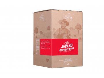 Jablko - červený rybíz 80/20% 5l bag in box