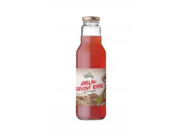 Jablko - červený rybíz 80/20% 750ml nevratná lahev
