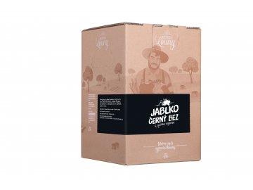 Jablko - černý bez 80/20% 5l bag in box