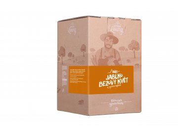 Jablko - bezový květ 90/10% 5l bag in box