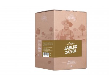 Jablko - zázvor 95/5% 5l bag in box