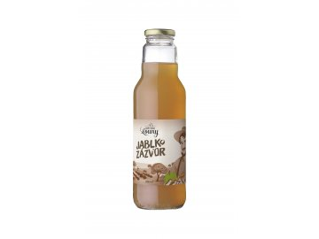 Jablko - zázvor 95/5% 750ml nevratná lahev
