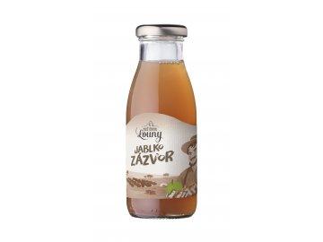 Jablko - zázvor 95/5% 250ml nevratná lahev