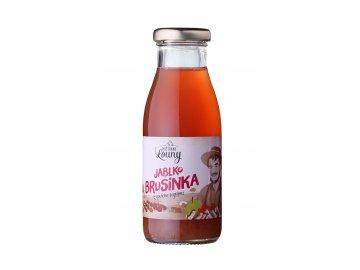 Jablko - brusinka 90/10% 250ml nevratná lahev