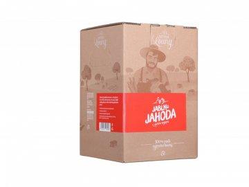 Jablko - jahoda 80/20% 5l bag in box