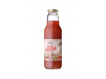 Jablko - jahoda 80/20% 750ml nevratná lahev