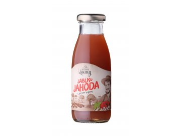 Jablko - jahoda 80/20% 250ml nevratná lahev