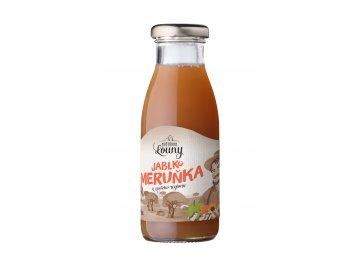 Jablko - meruňka 80/20% 250ml nevratná lahev
