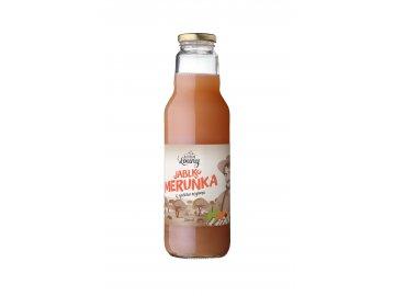 Jablko - meruňka 80/20% 750ml nevratná lahev